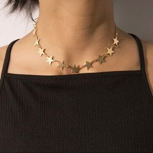 Boho Golden Stars Choker/Necklace